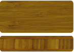 Bamboe caramel