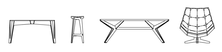 meubelslijntekening